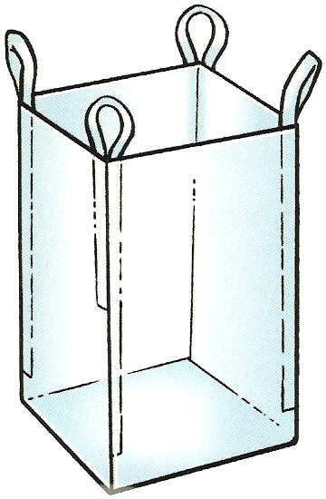 Open topo bulk bag