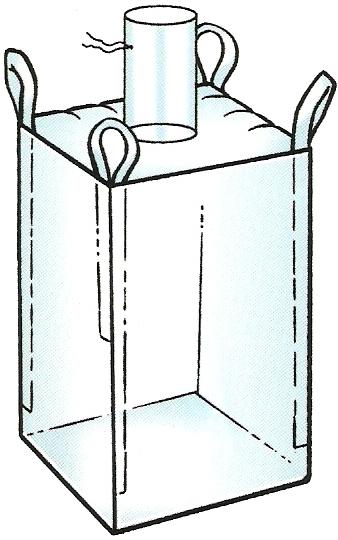 Filler chute bulk bags