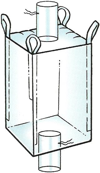 Filler & discharge chute bulk bags