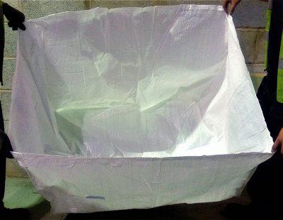 Textile recycling bulk bags